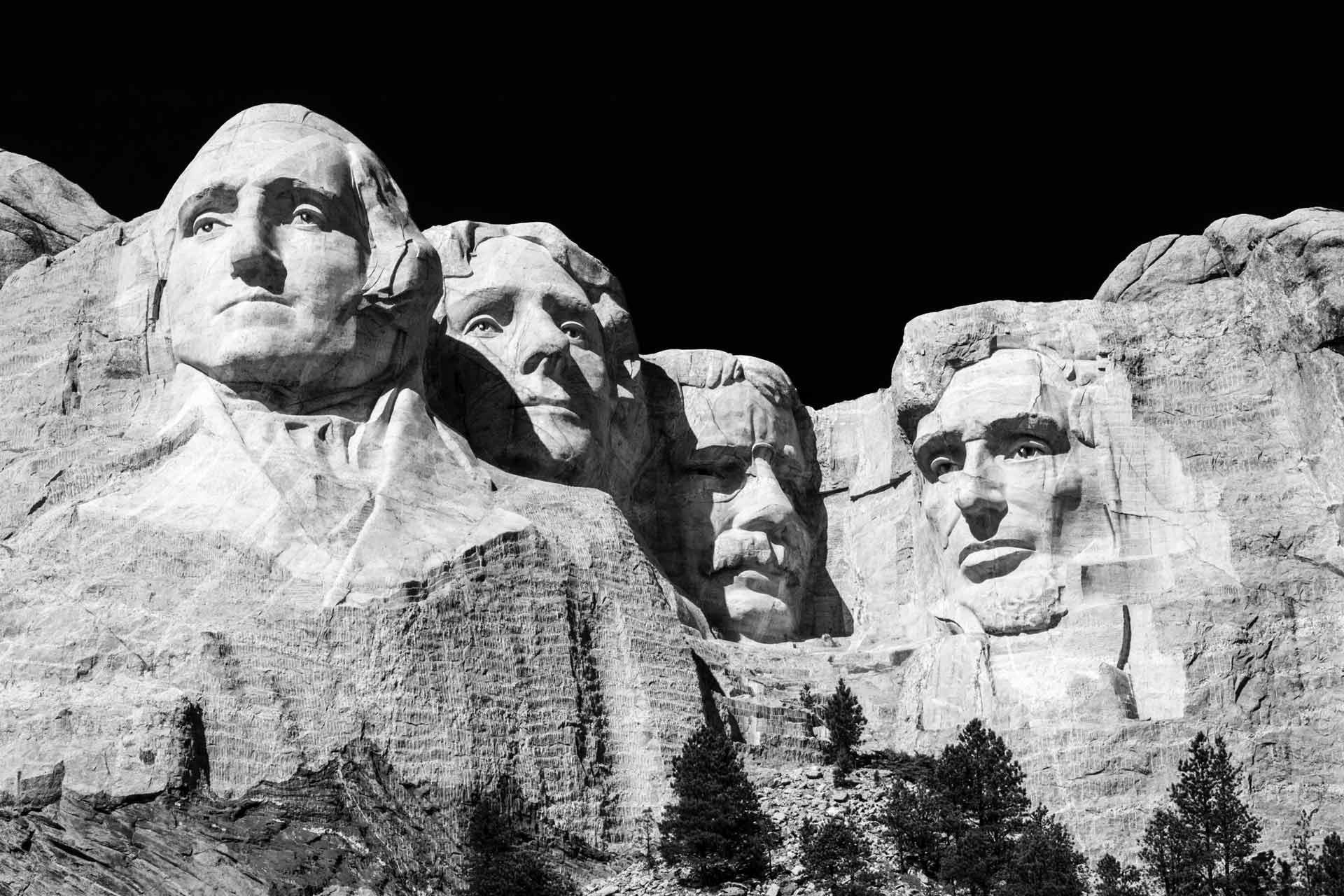 Mount Rushmore National Memorial. Photo by Brandon Mowinkel.